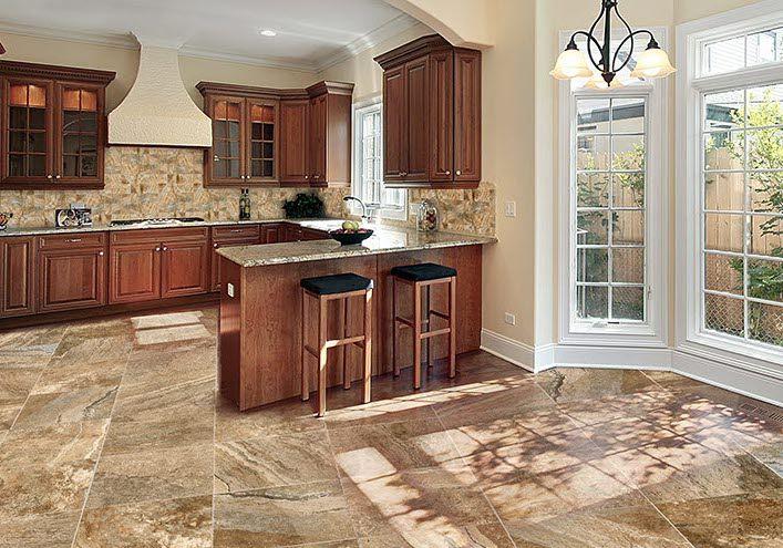 Stylish Mikonos Porcelain Tile In A Kitchen Setting Porcelain Tile Natural Stone Tile Floor Tile Manufacturers