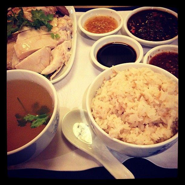 Chicken Rice !!
