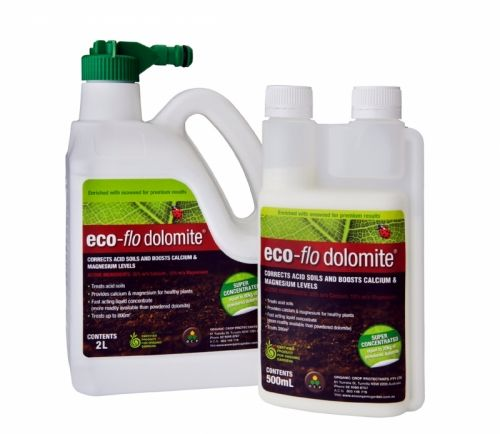 Eco Flo Dolomite Is A Certified Organic Liquid Dolomite For Improving Soil And Correcting Nutrient Deficiencies With Images Soil Organic Gardening Compost Soil