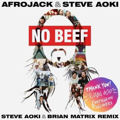 Afrojack & Steve Aoki No Beef (Steve Aoki & Brian Matrix