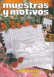 Muestras y Motivos Ganchillo Con Graficos No 95   Tablecloths, doilies, etc