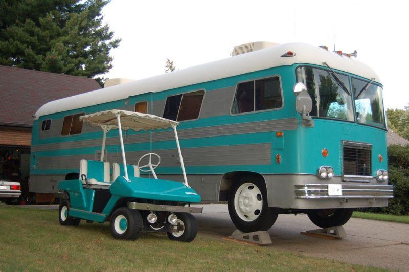 1972 Vintage Newell Rv School Bus Camper Recreational Vehicles Newell