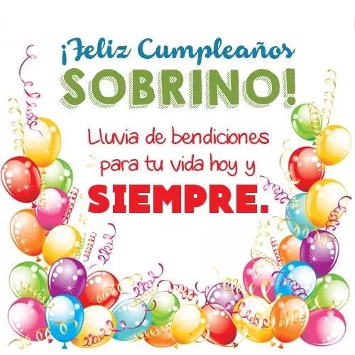 Tarjetas De Cumpleaños Para Mi Sobrino Querido Feliz Cumpleaños Sobrino Feliz Cumpleaños Sobrino Frases Tarjeta Feliz Cumpleaños Sobrina
