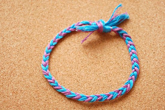 How to Make a 4 Strand Braided Bracelet: 9 Steps - wikiHow