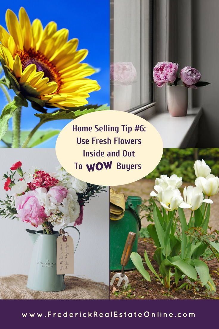 Using Fresh Flowers To Stage Your Home For Sale Real