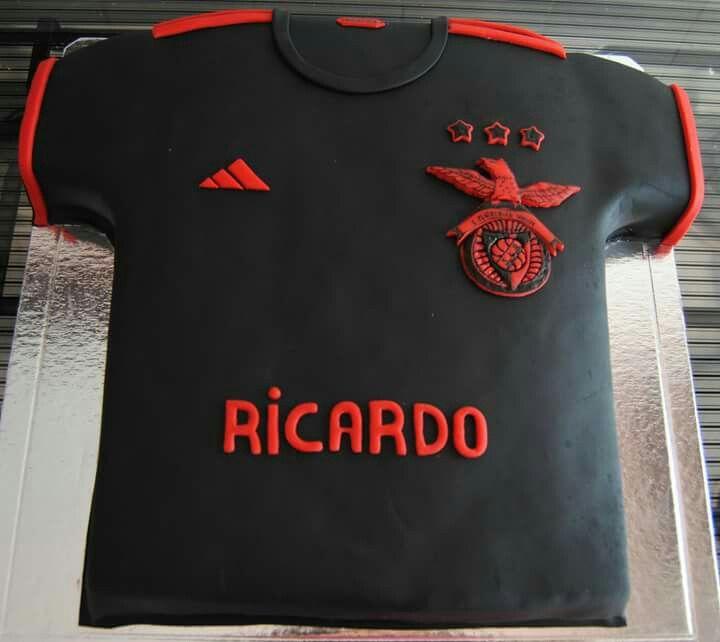 Cake;  Tshirt; Football;  SLB;  Benfica