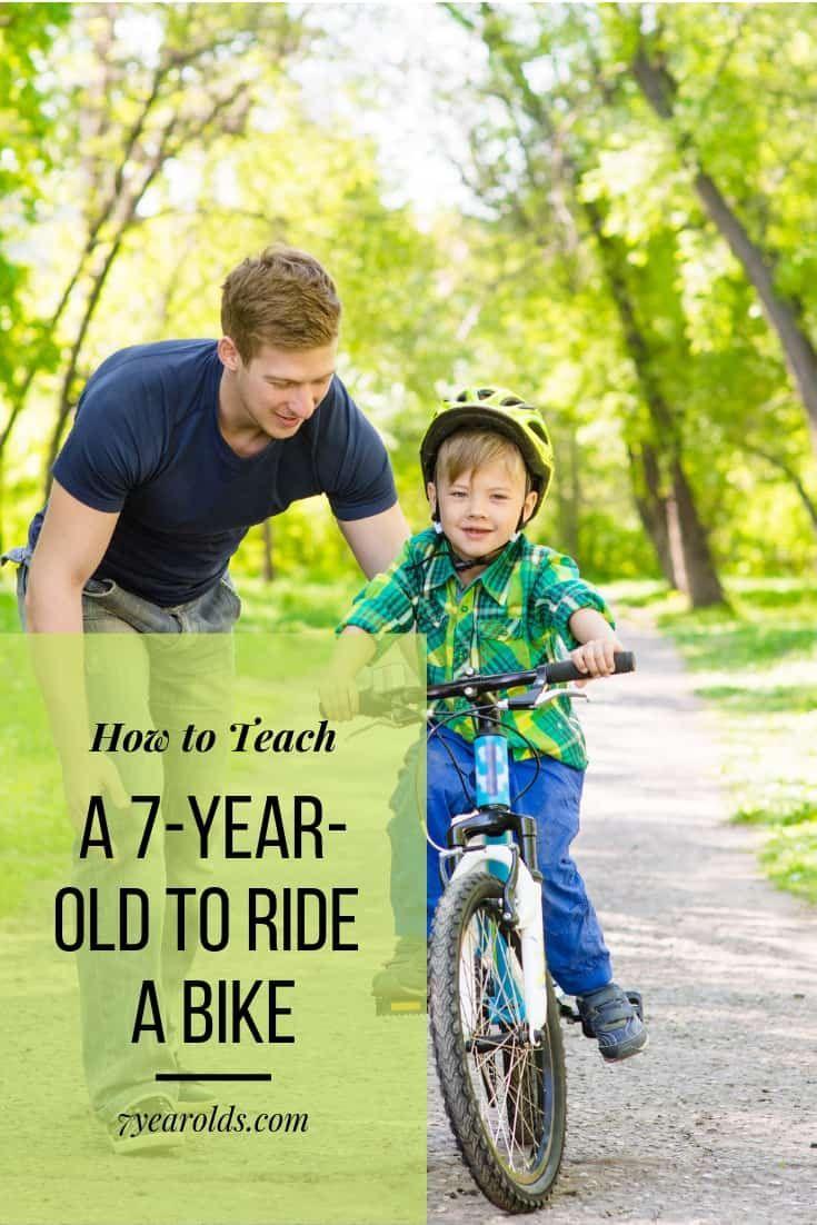 How To Teach A 7 Year Old To Ride A Bike In 2020 Bike Ride Bike