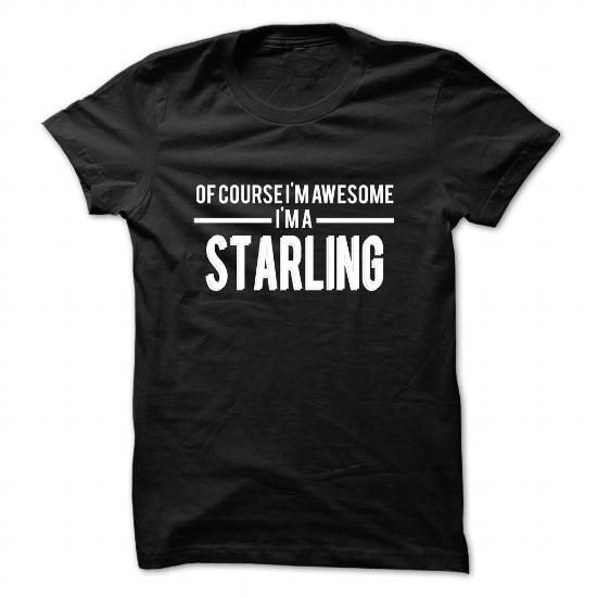 STARLING-the-awesome - #vintage shirt #crewneck sweatshirt. CHECK PRICE => https://www.sunfrog.com/LifeStyle/STARLING-the-awesome-80980618-Guys.html?68278