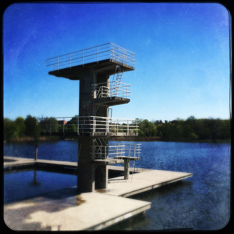 Darmstadt Swimming Pool sprungturm woog darmstadt sprungturm diving board