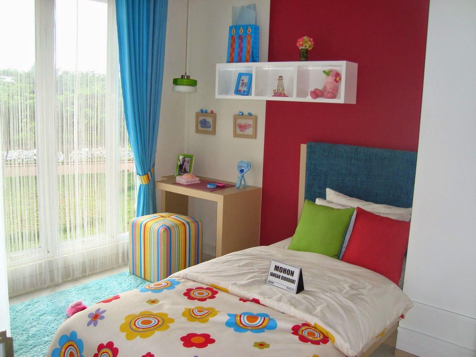 desain kamar tidur doraemon sederhana | interior rumah