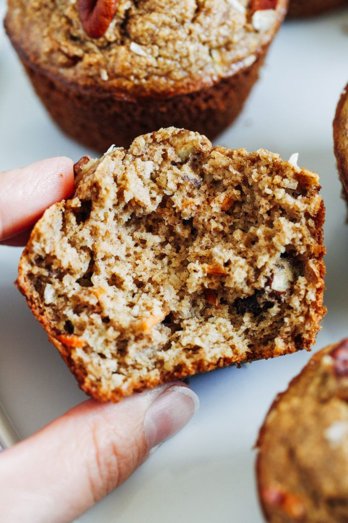 Healthy Flourless Morning Glory Muffins - Making T