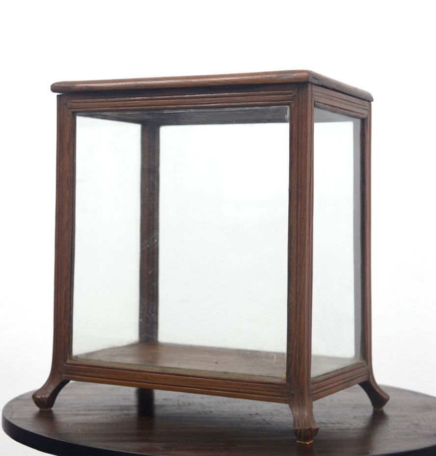 antique glass display case