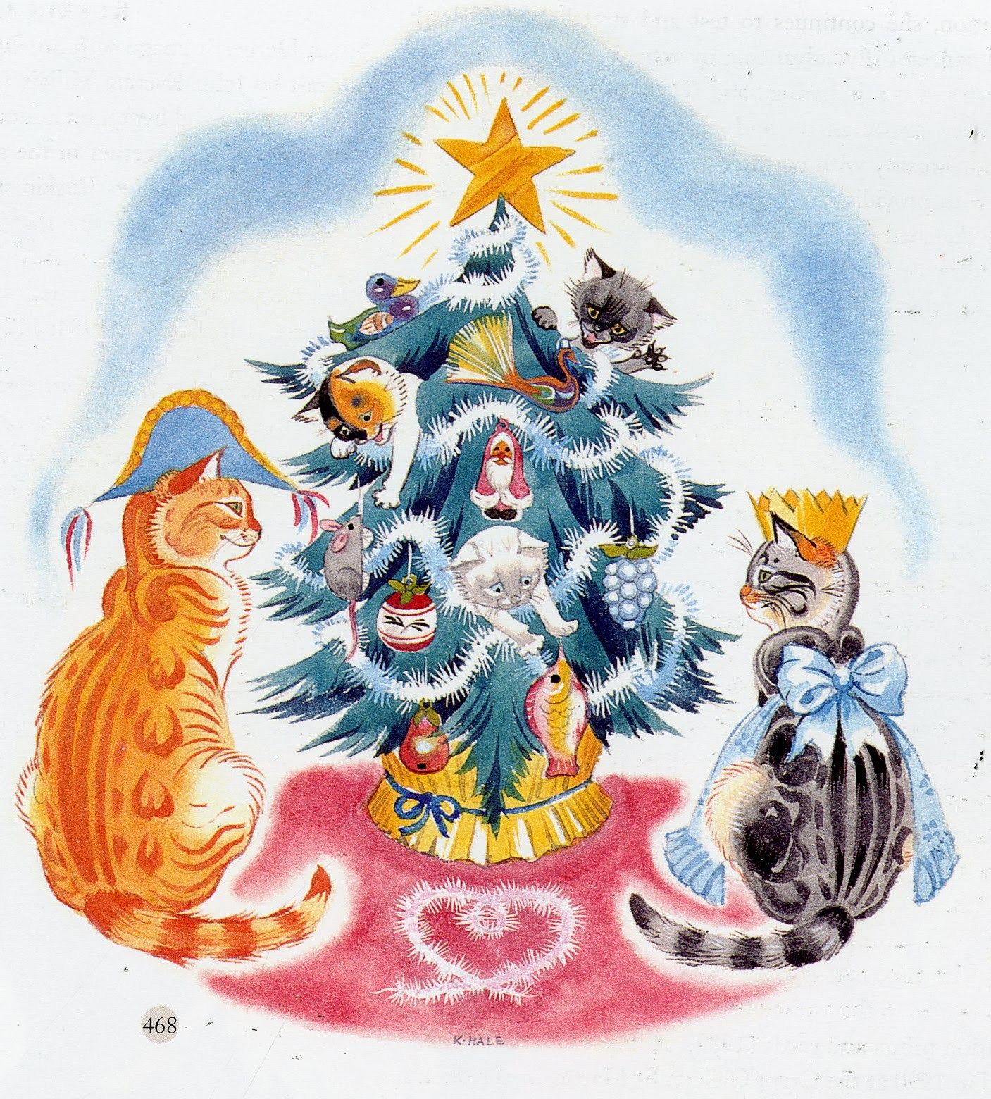 Kathleen Hale Orlando The Marmalade Cat And The Christmas Tree