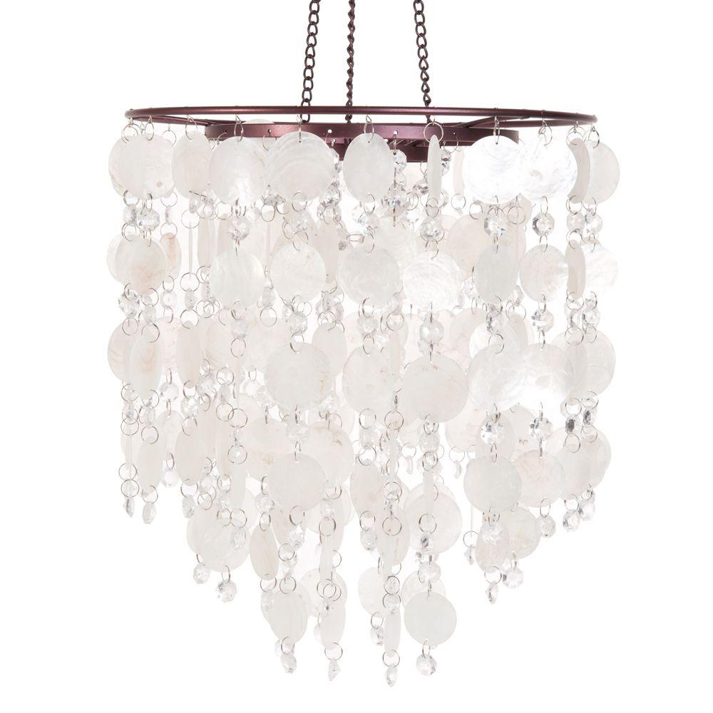excellent suspension nacre blanc sur maisons du monde dcouvrez toute notre gamme de luminaires. Black Bedroom Furniture Sets. Home Design Ideas