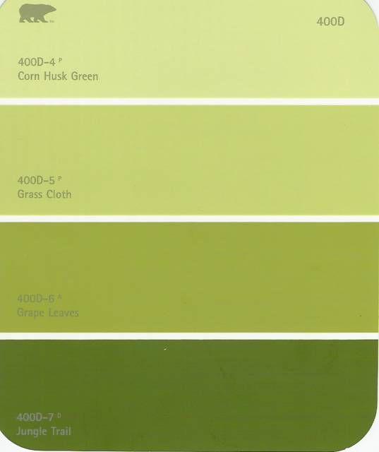 The Vienna Secession Design House Paint Color Combination