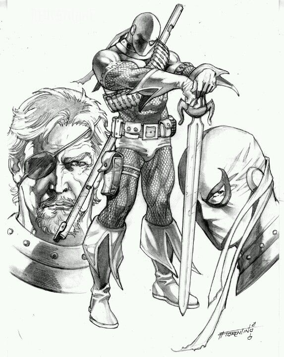Deathstroke Aka Slade Wilson Dcs Equivalent To Wolverine