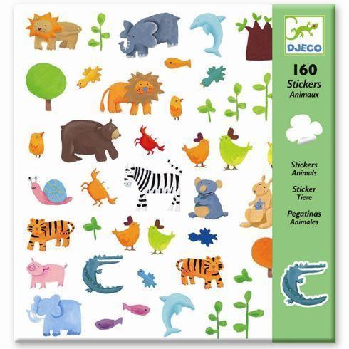 Klistermærker Vilde Dyr Fra Djeco Arthurs ønsker Stickers Toys