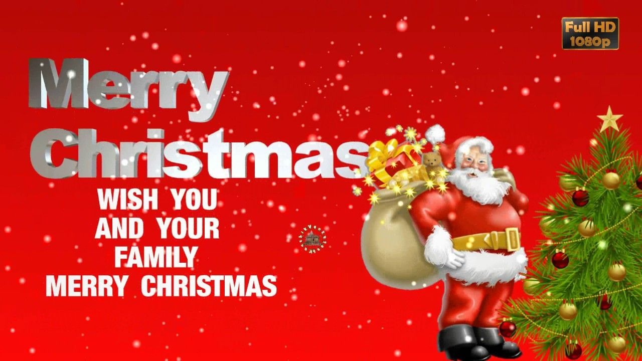 merry christmas 2016 wisheswhatsapp video downloadgreetingsanimation - Christmas Wishes Video