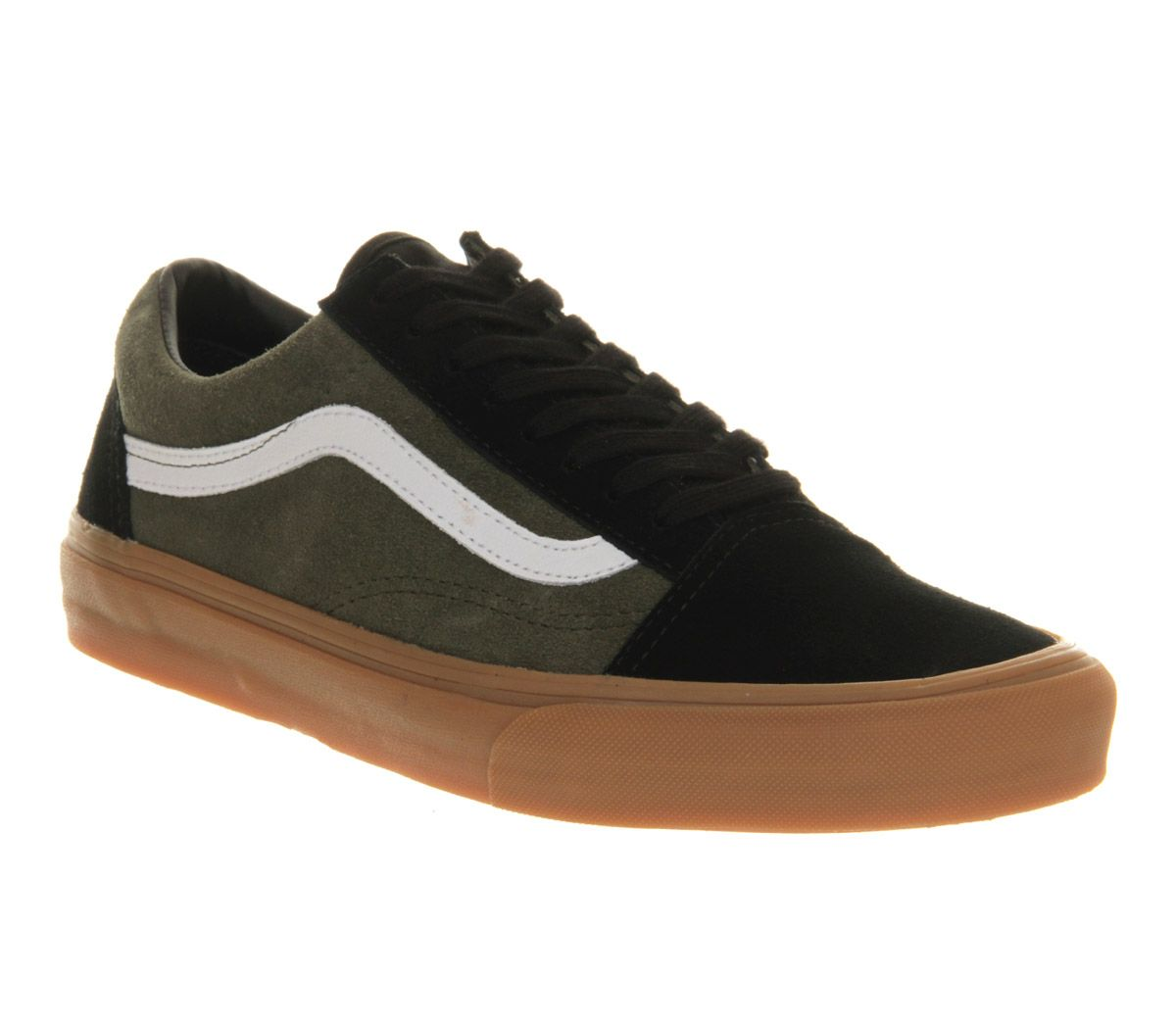 Old Skool | Vans old skool, Black suede, Old skool