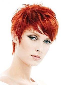 Make Up Magenta Hairsubtle Purple Hairviolet Red Hair Colorshort Hairbold