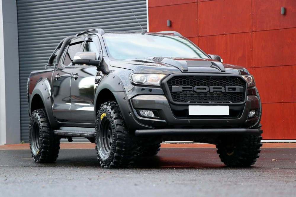 Used Ford Ranger Pick Up Double Cab Camo Seeker Raptor Edition 5