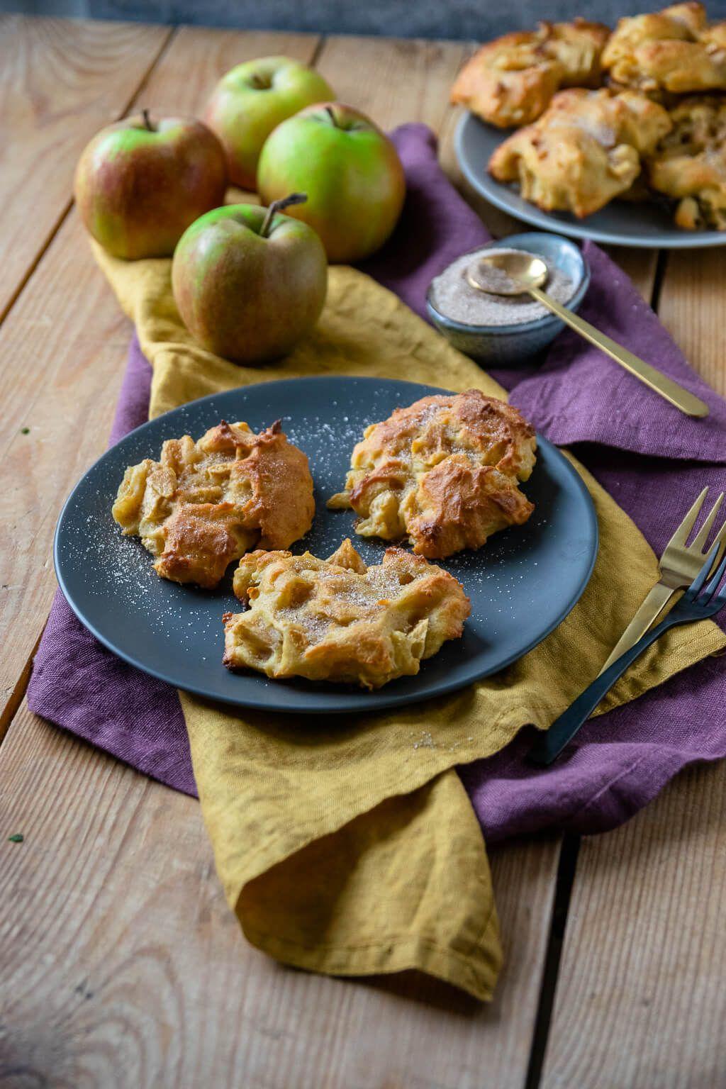 Saftige Apfel Zimt Taler Einfach Malene Rezept Apfel Zimt Kuchen Lebensmittel Essen Kekse Backen Rezept