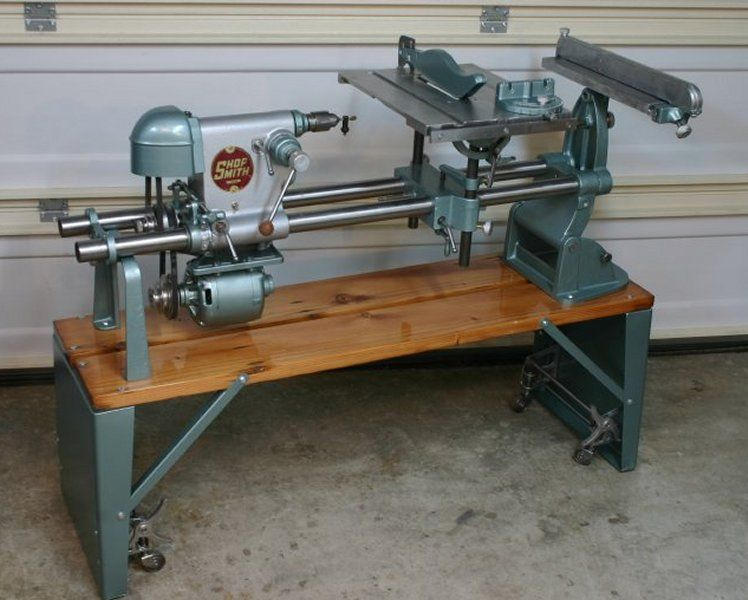 Restoring A Shopsmith 1952 ER10   Shopsmith, Woodworking ...