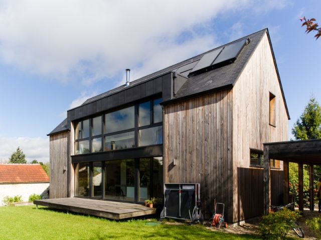 Une maison passive allie inspiration japonaise et performances - prix pour extension maison