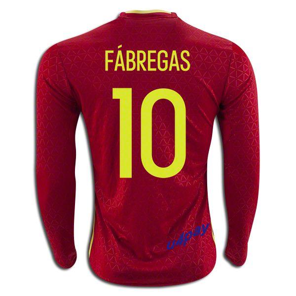 7694f4421 ... xavi casillas iniesta torres aab1e 41f9c  release date 2016 uefa euro  spain cesc fabregas 10 long sleeve home soccer jerseyyou can find