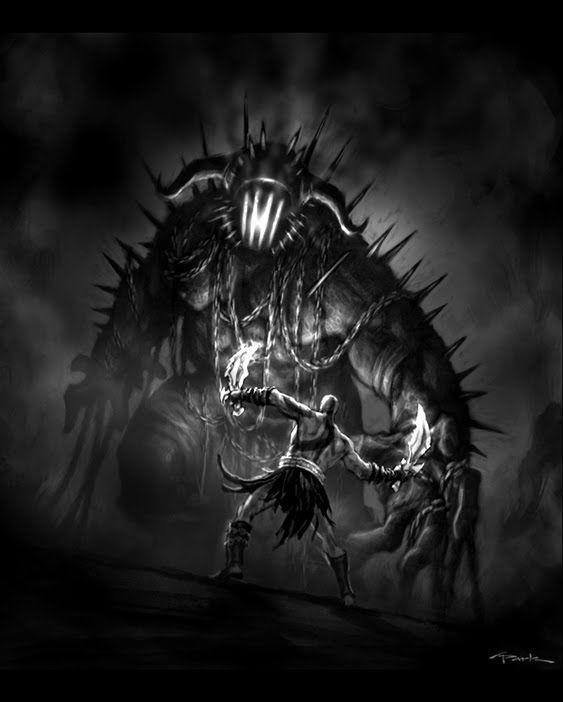 God Of War 3 Concept Art God Of War Kratos God Of War