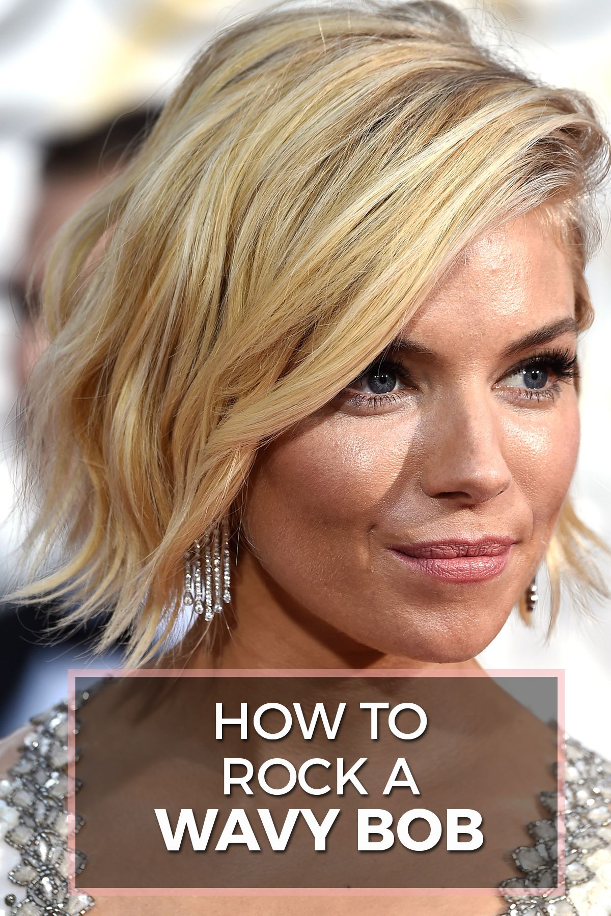 wavy bob hairstyles: how to rock this summer's 'it' cut | wavy