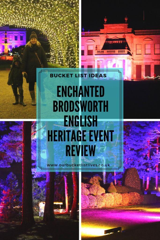 Enchanted Brodsworth English heritage, South yorkshire