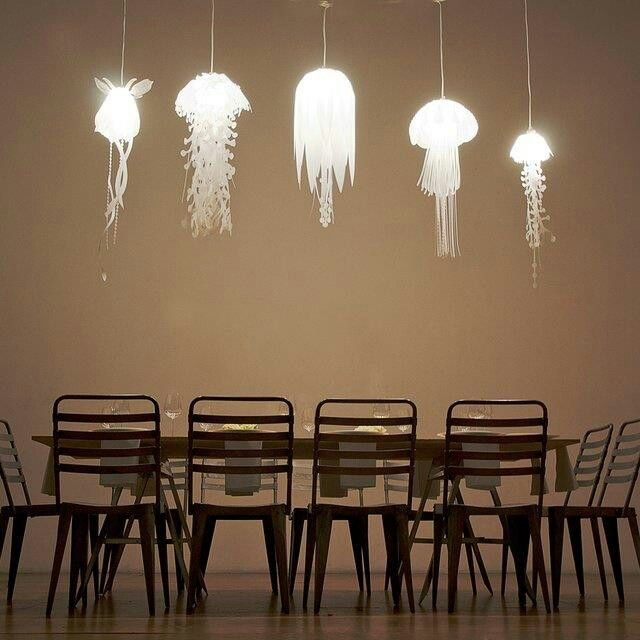 Funny pictures about jellyfish inspired pendant lights oh and cool pics about jellyfish inspired pendant lights also jellyfish inspired pendant lights