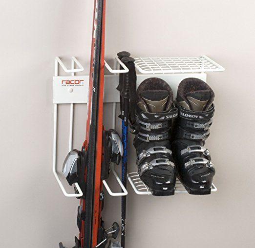 Amazon.com: Racor Pro SR 2R Two Pair Ski Storage Rack For Skis