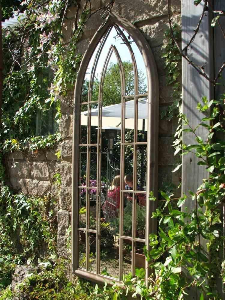 Miroir ext rieur pour une d co de jardin extraordinaire garden ideas and gardens - Miroir de jardin ...