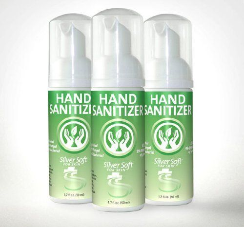 Hand Sanitizer Foam 3 Pack No Alcohol Chlorine Free Anti