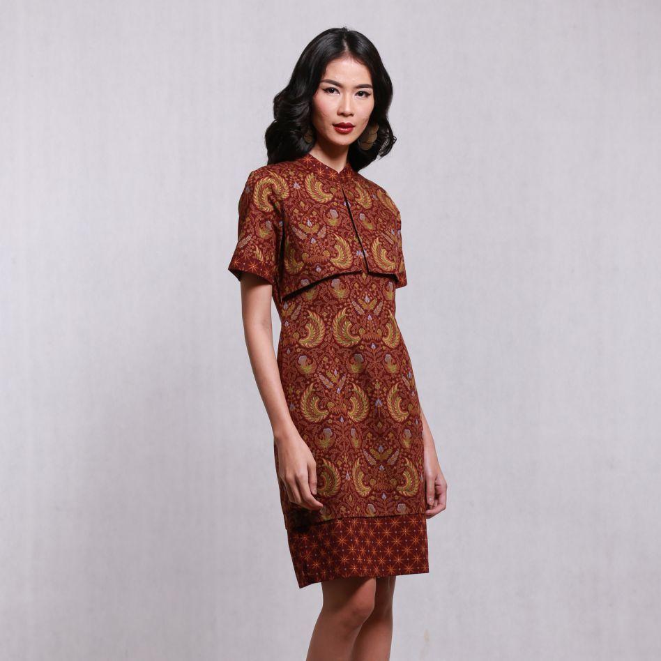 8 Model Baju Batik Keris Wanita Modern Terbaru 8  Wanita