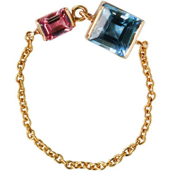 18K Gold Pink Sapphire Bracelet Yi Collection jxjq4VQ