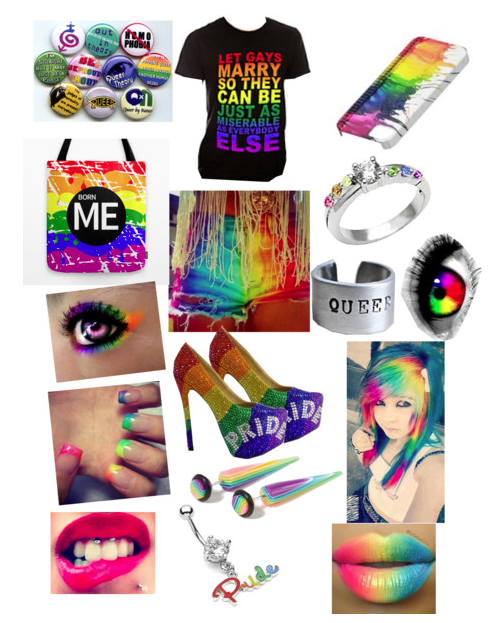Exceptional Tumblr Cute Girl Bedroom Cozy Teenage Ideas: LGBT Gay Pride Outfit Vampireluver-monsterenergyluver9