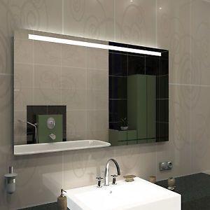 Badspiegel Young I Bad Spiegel Mit Beleuchtung Oben Mass 100 X