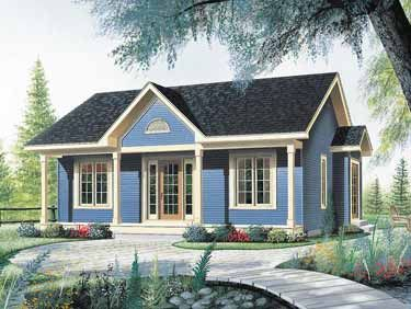 Nice Little Starter Home (HWBDO14140) | Bungalow House ...