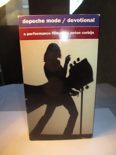 Depeche Mode - Devotional VHS tape 1993 film by Anton Corbijn