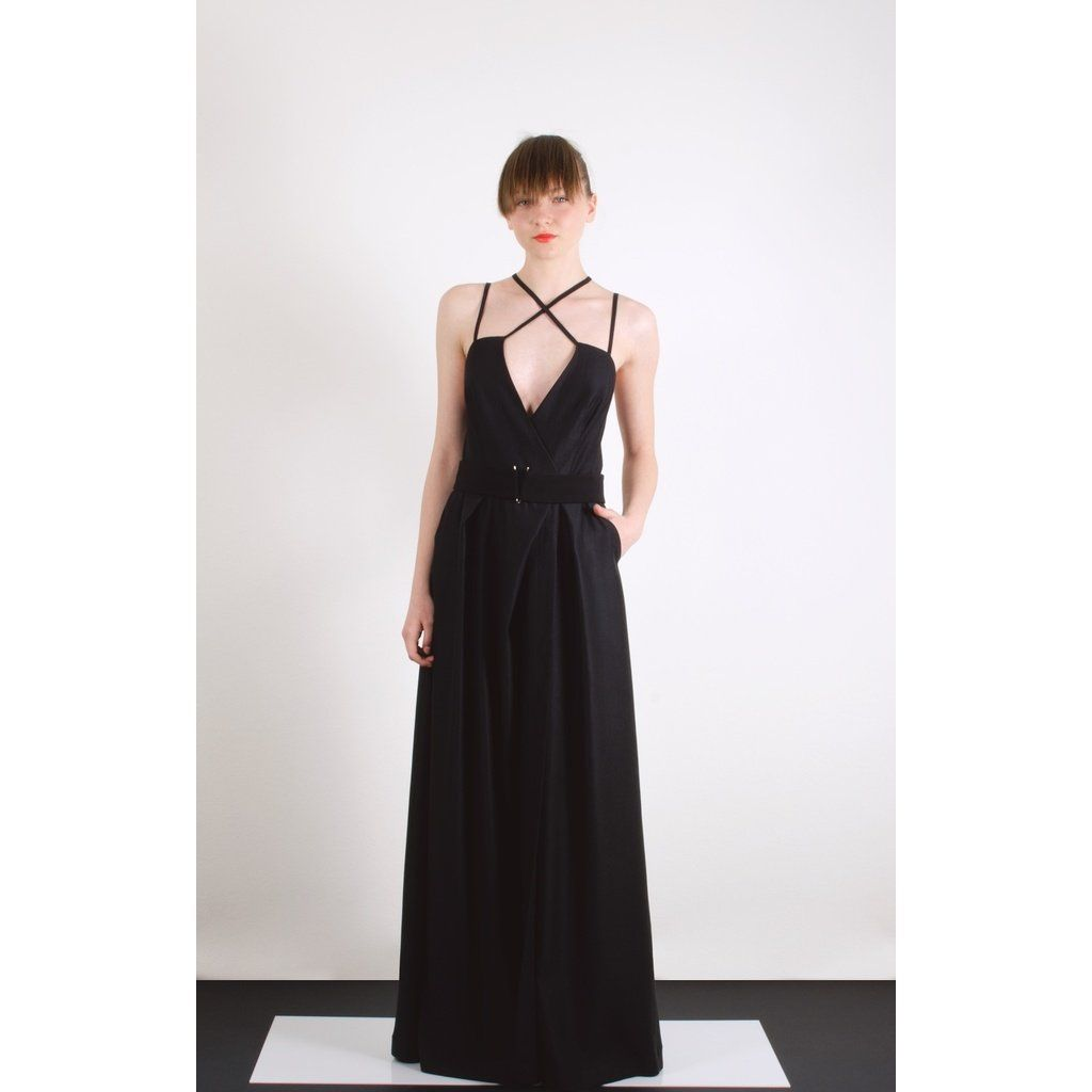 The black maxi dress products pinterest products