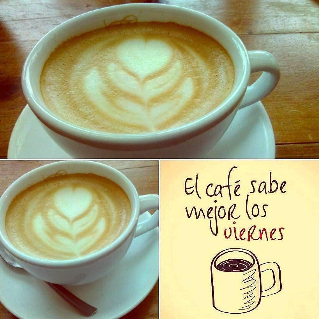 """A R O M A  D I  C A F F É  """"Ya comienza el fin de semana y es hora de disfrutar una taza del mejor café; #AromaDiCaffé"""". . #CoffeeLife  #CoffeeTime  . Latte Art by: @irvin_gonzalezo.o. . #AromaDiCaffé#SaboresAroma#MomentosAroma#Amistd#Compartir#Disfrutar#CoffeeMoments#Coffee#Barismo#Caracas . Visítanos de Lunes a Sábado de 8:00 a.m. - 7:00 p.m."""
