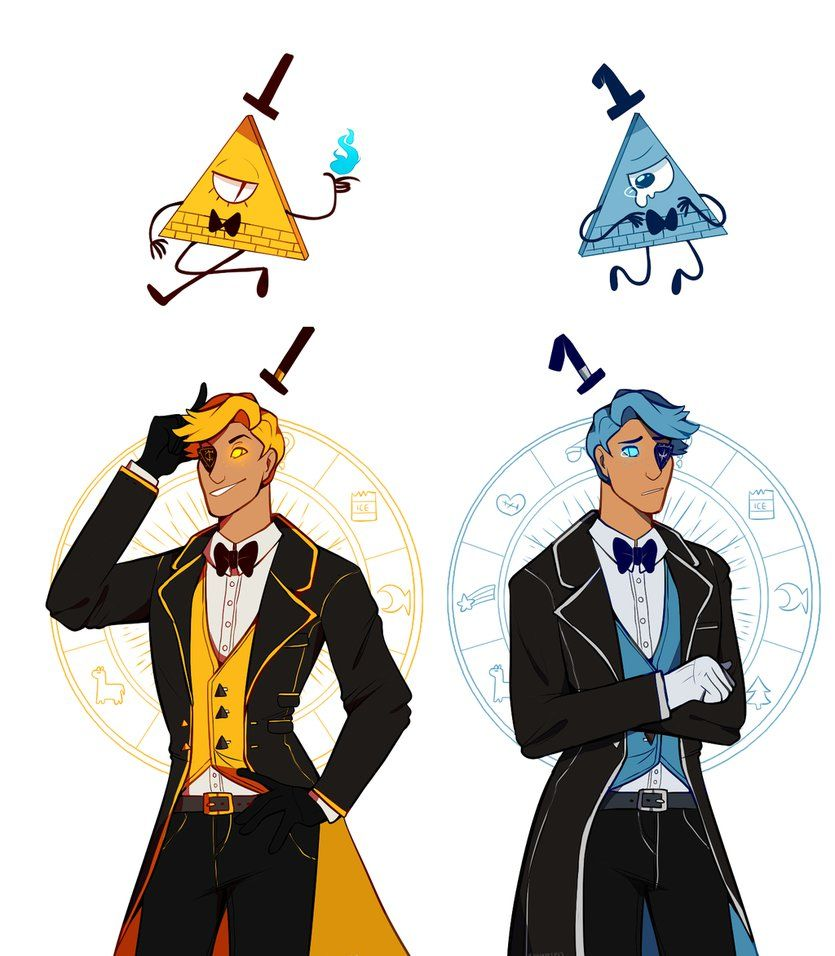 bill cipher and will cipher by xnighten gravity falls pinterest