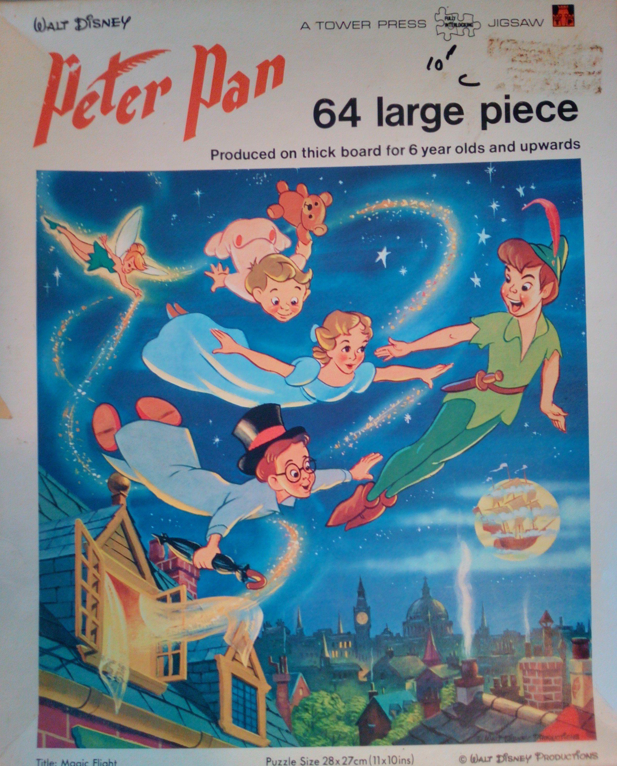 peter pan puzzle
