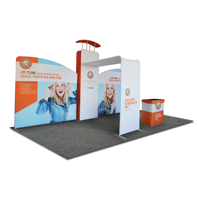 Exhibition Booth Backdrop : Trade show backdrop stand trade show materials exhibition booth