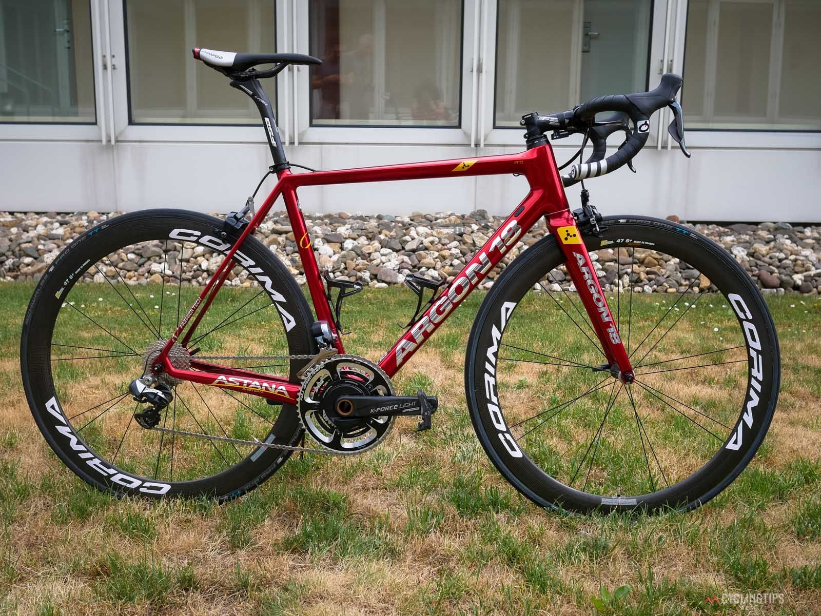 Tour de France tech: Fabio Aru\'s custom-painted Argon 18 Gallium Pro ...