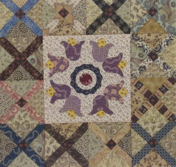 Vintage Crosses PDF Quilt Pattern by PVQuilts on Etsy
