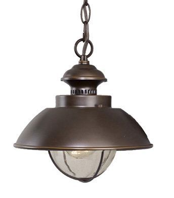 Buy the vaxcel lighting burnished bronze direct shop for the vaxcel lighting burnished bronze harwich 1 light nautical outdoor small pendant and save